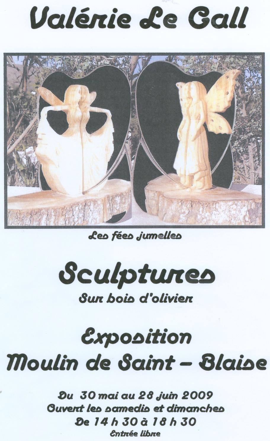 Exposition de Valerie Le GALL Moulin 2009